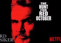 jakten röd oktober netflix